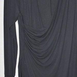 NAU Crossbody Ruched Dark Grey Tunic (from Terry)